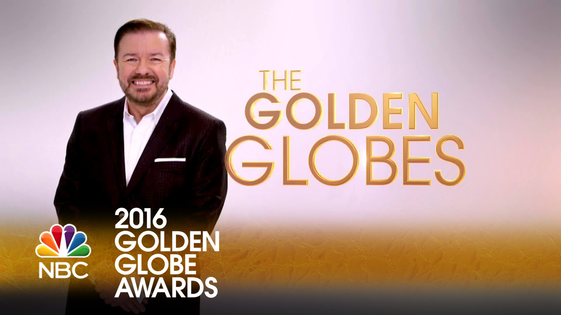 Ricky Gervais has hosted the award show four times!!!