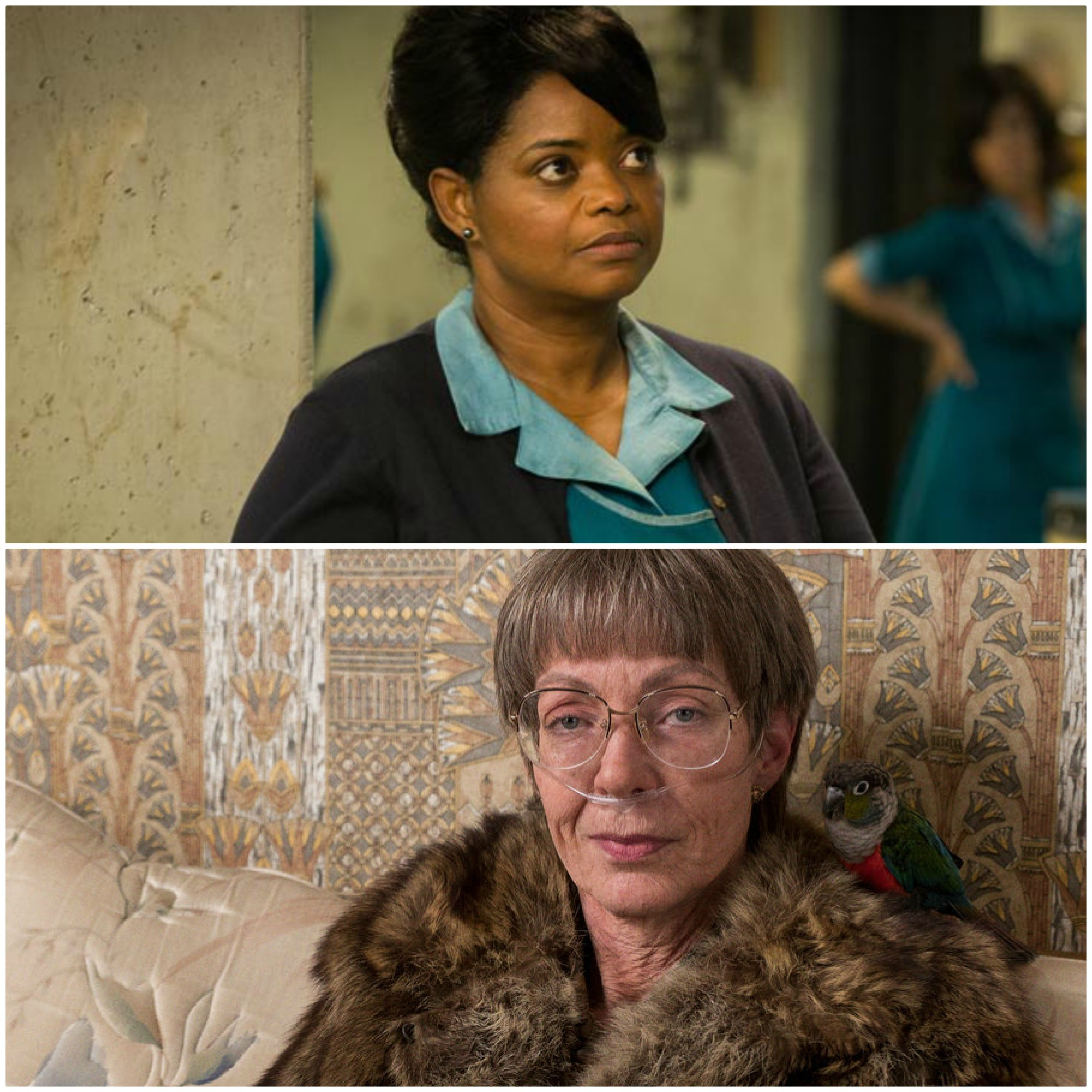 Octavia Spencer (Top) / Allison Janney (Bottom)